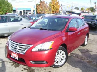 Used 2015 Nissan Sentra SV,ONE OWNER,BLUETOOTH,BACKUP CAMERA,HEATED SEATS for sale in Kitchener, ON