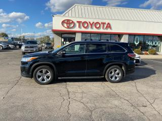 Used 2016 Toyota Highlander LIMITED  for sale in Cambridge, ON