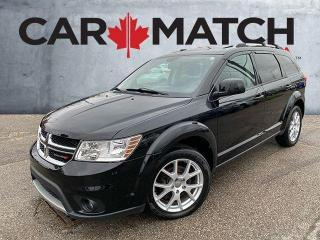 Used 2015 Dodge Journey LIMITED / 7 SEATER / NAV /  SUNROOF for sale in Cambridge, ON