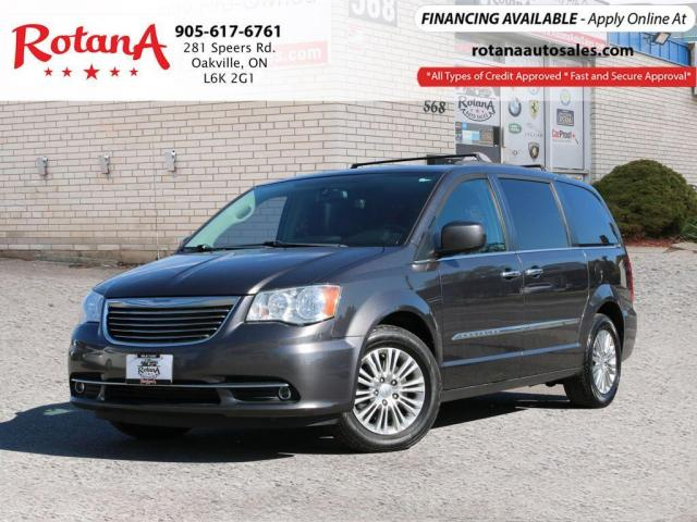 2015 Chrysler Town & Country Touring w/Navi_DVD_Sunroof_Leather