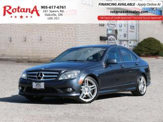 Used 2010 Mercedes-Benz C-Class C 350 AMG PKG_Navigation_Pano Roof_Leather for sale in Oakville, ON