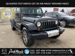 Used 2012 Jeep Wrangler UNLIMITED SPORT for sale in Sherwood Park, AB