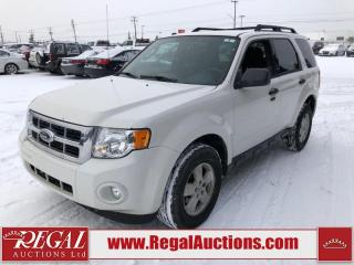 Used 2009 Ford Escape XLT 4D Utility FWD for sale in Calgary, AB
