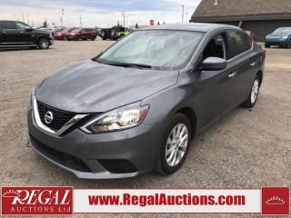 Used 2019 Nissan Sentra SV 4D Sedan AT 1.8L for sale in Calgary, AB