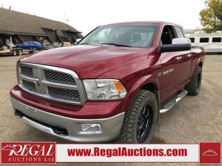 Used 2012 RAM 1500 Laramie Quad CAB SWB 4WD 5.7L for sale in Calgary, AB