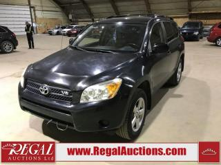 Used 2008 Toyota RAV4 4D Utility 4WD for sale in Calgary, AB