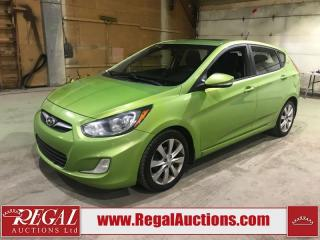 Used 2012 Hyundai ACCENT GLS 4D HATCHBACK for sale in Calgary, AB