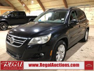 Used 2010 Volkswagen Tiguan 2.0T 4D Utility AWD for sale in Calgary, AB
