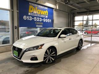Used 2020 Nissan Altima Platinum AWD | Leather, Sunroof, Nav & Safety for sale in Nepean, ON