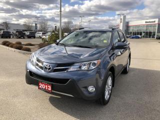 Used 2013 Toyota RAV4 Limited Technology Pkg for sale in Winnipeg, MB