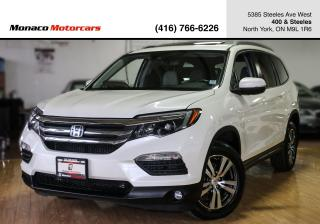 Used 2016 Honda Pilot EX-L - LEATHER|SUNROOF|BACKUP|DVD|ACC|LKAS|FWC for sale in North York, ON