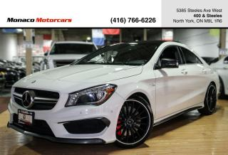 Used 2014 Mercedes-Benz CLA-Class CLA45 AMG - DISTRONIC|NAVI|BACKUP|PANORAMIC ROOF for sale in North York, ON