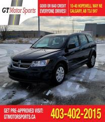 Used 2014 Dodge Journey Canada Value Pkg |$0 DOWN - EVERYONE APPROVED for sale in Calgary, AB