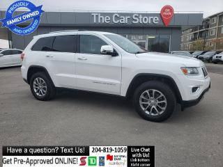 Used 2014 Jeep Grand Cherokee Limited Leather Sunroof Push Start Local Clean Car for sale in Winnipeg, MB