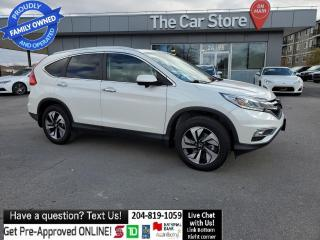 Used 2016 Honda CR-V AWD Touring LEATHER sunroof REAR CAM Navigation for sale in Winnipeg, MB
