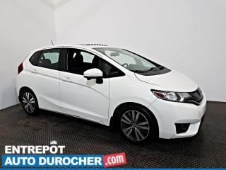 Used 2015 Honda Fit EX Automatique - TOIT OUVRANT - A/C - Caméra for sale in Laval, QC