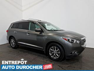 Used 2015 Infiniti QX60 AWD TOIT OUVRANT - A/C - 7 Passagers - CUIR for sale in Laval, QC