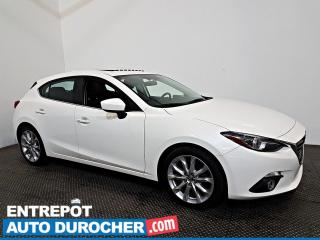 Used 2016 Mazda MAZDA3 GT NAVIGATION - Toit Ouvrant - Automatique - A/C for sale in Laval, QC