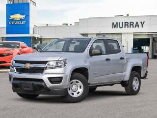 New 2020 Chevrolet Colorado 4WD Work Truck for sale in Winnipeg, MB