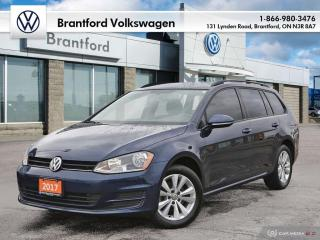 Used 2017 Volkswagen Golf Sportwagen 1.8T Trendline 6sp at w/Tip for sale in Brantford, ON