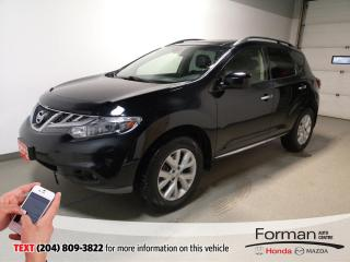 Used 2012 Nissan Murano SL Htd Lthr Warranty Camera Low kms Htd Wheel Pwr for sale in Brandon, MB