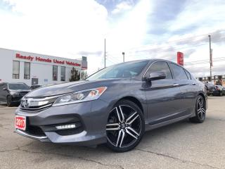 Used 2017 Honda Accord Sedan Sport - Sunroof - Rear Camera -  Heated Seats for sale in Mississauga, ON
