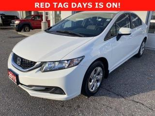 Used 2015 Honda Civic Sedan 4dr Auto LX for sale in North Bay, ON