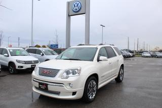 Used 2012 GMC Acadia 3.6L Denali for sale in Whitby, ON