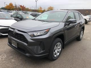 New 2021 Toyota RAV4 LE FWD for sale in Burlington, ON