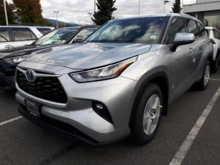 New 2021 Toyota Highlander HYBRID LE for sale in North Vancouver, BC