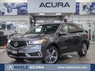 Used 2018 Acura MDX Elite, Acura Certified 7/160km warranty, No Accide for sale in Maple, ON