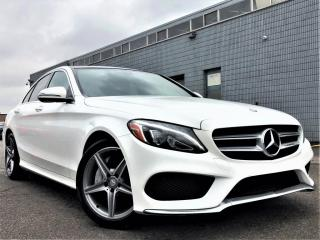 Used 2017 Mercedes-Benz C-Class C300 4MATIC|PANORAMIC|NAVI|MEMORY SEATS| AMG PKG! for sale in Brampton, ON