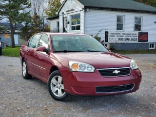Used 2006 Chevrolet Malibu 1-Owner No Accidents Low Kms LT Remote Start Bluetooth Power for sale in Sutton, ON