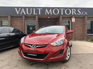Used 2014 Hyundai Elantra 4DR SDN for sale in Brampton, ON