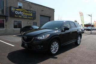 Used 2013 Mazda CX-5 AWD/GT/BACKUP CAMERA/LEATHER INTERIOR/ACCIDENT FREE for sale in Newmarket, ON