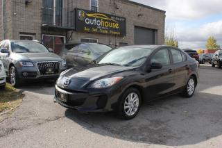 Used 2012 Mazda MAZDA3 GS-SKY / WINTER TIRES / LOW KMS for sale in Newmarket, ON