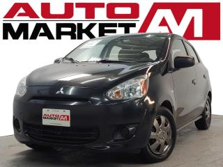 Used 2015 Mitsubishi Mirage ES ALLOY WHEELS, KEYLESS ENTRY, WE APPROVE ALL CREDIT!! for sale in Guelph, ON