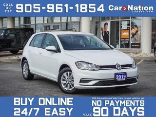 Used 2019 Volkswagen Golf Comfortline 5-door| BACK UP CAM| HEATED SEATS| for sale in Burlington, ON