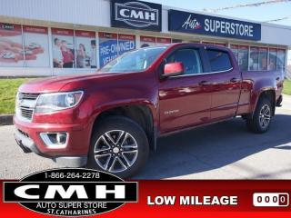 Used 2019 Chevrolet Colorado LT  V6 4X4 CAM P/SEATS HTD-SEATS 18-AL for sale in St. Catharines, ON