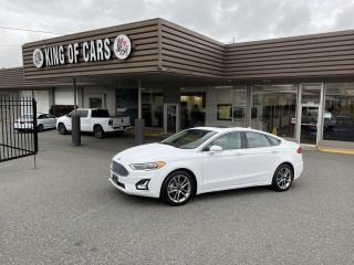 Used 2020 Ford Fusion Hybrid Titanium WITH AUTONOMOUS BRAKING for sale in Langley, BC