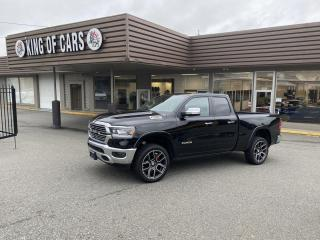 Used 2019 RAM 1500 LARAMIE - 4X4 with Autonomous Braking for sale in Langley, BC
