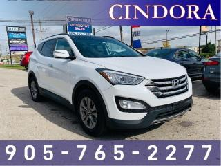 Used 2015 Hyundai Santa Fe Sport LUXURY, AWD, LEATHER, PANO ROOF for sale in Caledonia, ON