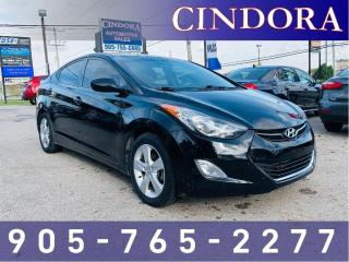 Used 2013 Hyundai Elantra GLS, Auto, Heated Seats, Sunroof for sale in Caledonia, ON