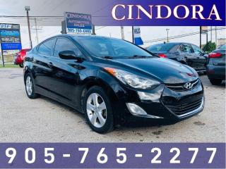Used 2013 Hyundai Elantra GLS, Auto, Heated Seats, Sunroof for sale in Caledonia, ON