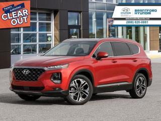 New 2020 Hyundai Santa Fe 2.0T Ultimate AWD  - Navigation - $269 B/W for sale in Brantford, ON