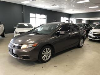 Used 2012 Honda Civic EX*SUNROOF*ALLOY WHEELS*NO ACCIDENTS*CERTIFIED*LOW for sale in North York, ON