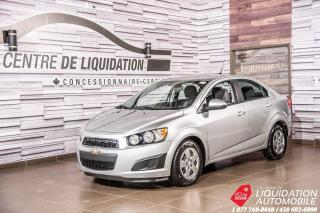 Used 2012 Chevrolet Sonic LS+AIR+PORTE ELECT for sale in Laval, QC