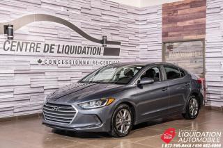 Used 2017 Hyundai Elantra GL+AIR+CAM/RECUL+VOLANT ET SIEGE /CHAUFF for sale in Laval, QC