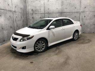 Used 2010 Toyota Corolla Berline 4 portes, boîte 132HP for sale in St-Nicolas, QC
