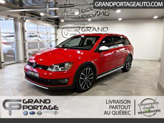 Used 2017 Volkswagen Golf Alltrack Familiale 4 portes for sale in Rivière-Du-Loup, QC